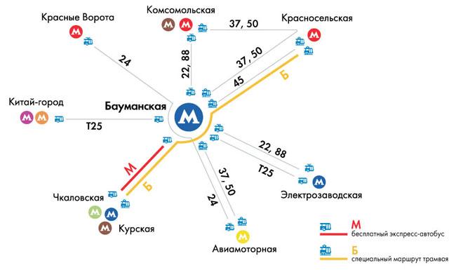 Бесплатный автобус-экспресс «